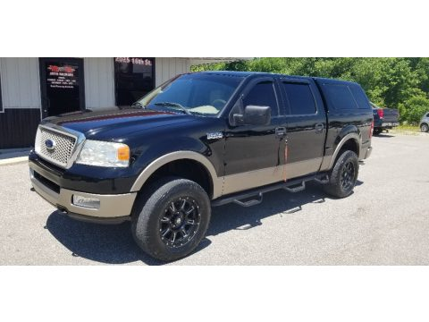 Black Ford F150 Lariat SuperCrew 4x4.  Click to enlarge.