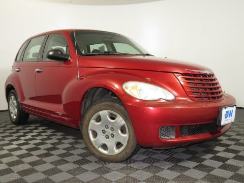 Inferno Red Crystal Pearl Chrysler PT Cruiser LX.  Click to enlarge.