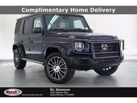 designo Mystic Blue Metallic Mercedes-Benz G 550.  Click to enlarge.