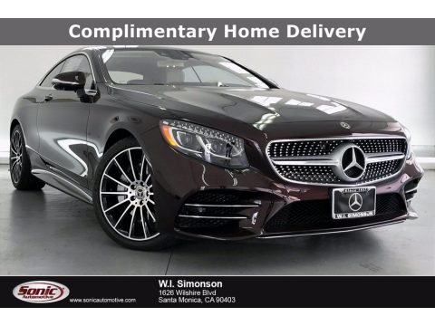 Rubellite Red Metallic Mercedes-Benz S 560 4Matic Coupe.  Click to enlarge.