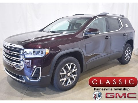 Red Mahogany Metallic GMC Acadia SLE AWD.  Click to enlarge.