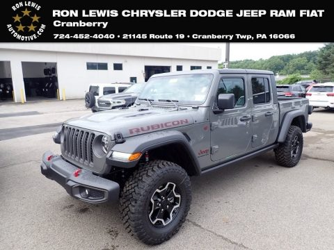 Sting-Gray Jeep Gladiator Rubicon 4x4.  Click to enlarge.