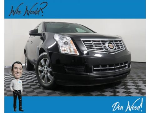 Black Raven Cadillac SRX Luxury AWD.  Click to enlarge.