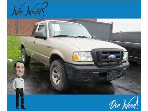 Pueblo Gold Metallic Ford Ranger XL SuperCab 4x4.  Click to enlarge.