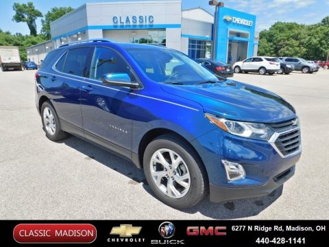 Pacific Blue Metallic Chevrolet Equinox LT.  Click to enlarge.
