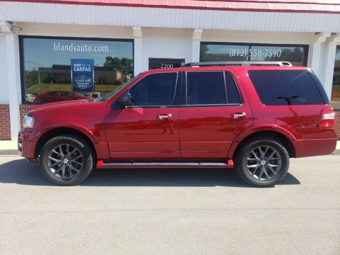 Ruby Red Ford Expedition Limited 4x4.  Click to enlarge.