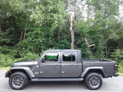 Granite Crystal Metallic Jeep Gladiator North Edition 4x4.  Click to enlarge.