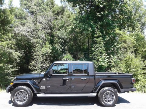 Black Jeep Gladiator North Edition 4x4.  Click to enlarge.