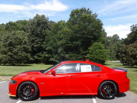 TorRed Dodge Charger R/T Scat Pack.  Click to enlarge.