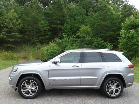 Billet Silver Metallic Jeep Grand Cherokee Overland 4x4.  Click to enlarge.