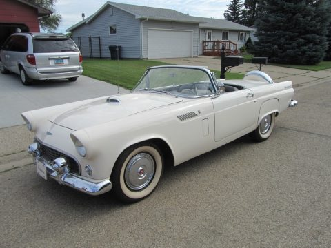 Colonial White Ford Thunderbird Roadster.  Click to enlarge.