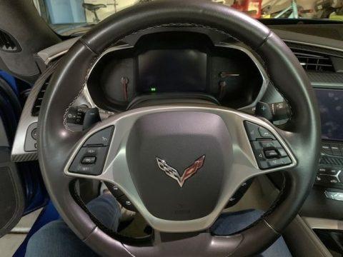 Laguna Blue Metallic Chevrolet Corvette Stingray Coupe.  Click to enlarge.