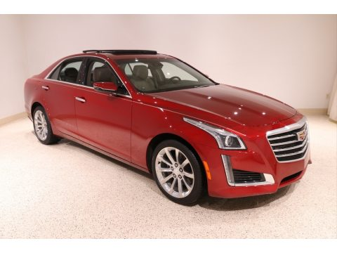 Red Obsession Tintcoat Cadillac CTS Luxury AWD.  Click to enlarge.