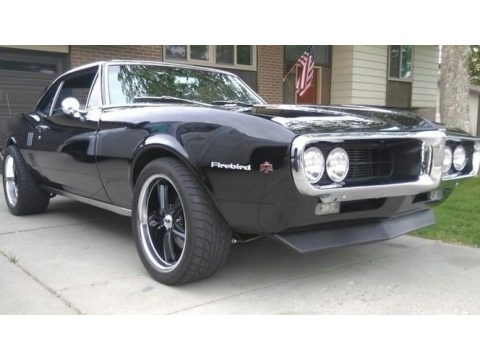 Starlight Black Pontiac Firebird Coupe.  Click to enlarge.