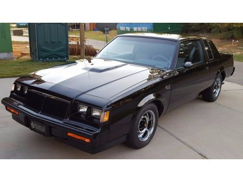 Black Buick Regal Grand National.  Click to enlarge.