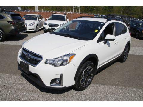Crystal White Pearl Subaru Crosstrek 2.0i Premium.  Click to enlarge.