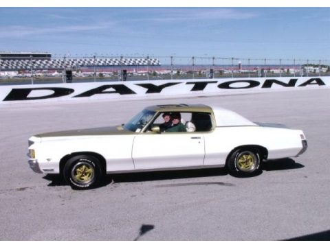 Cameo White/Fire Frost Gold Pontiac Grand Prix SSJ Hurst.  Click to enlarge.