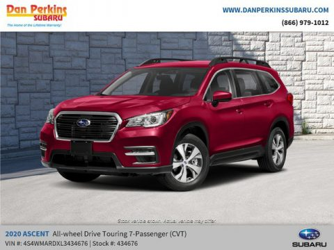 Crimson Red Pearl Subaru Ascent Touring.  Click to enlarge.