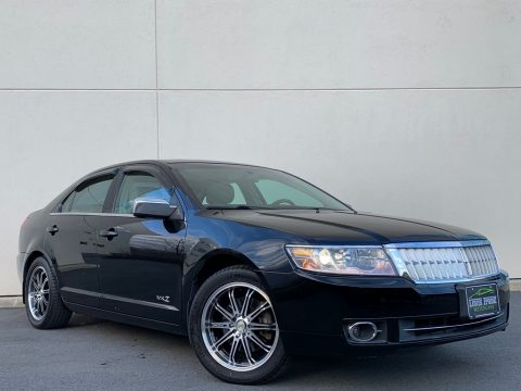 Black Lincoln MKZ Sedan.  Click to enlarge.