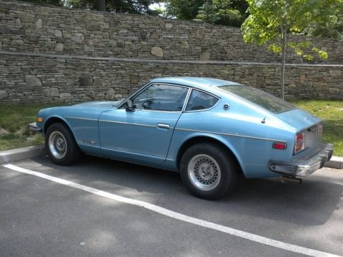 Light Blue Metallic Datsun 280Z .  Click to enlarge.