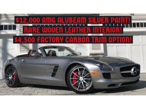ALU-BEAM Metallic Mercedes-Benz SLS AMG Roadster.  Click to enlarge.
