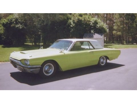 Keylime Green Ford Thunderbird Coupe.  Click to enlarge.