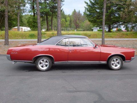 Red Pontiac GTO 2 Door Hardtop.  Click to enlarge.