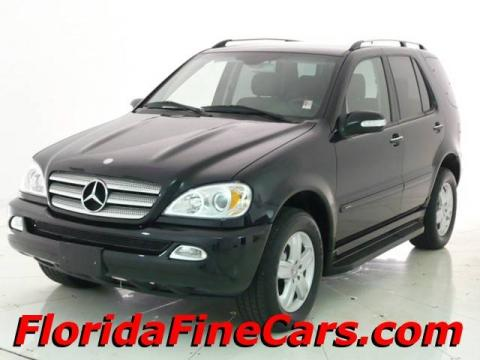 Mercedes Benz Ml500. Black 2005 Mercedes-Benz ML