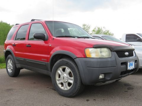 Bright Red Ford Escape XLT V6 4WD.  Click to enlarge.