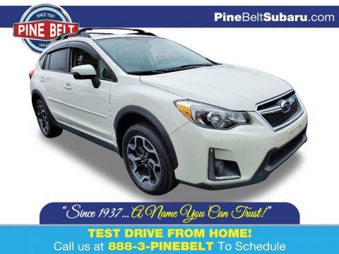 Crystal White Pearl Subaru Crosstrek 2.0i Limited.  Click to enlarge.