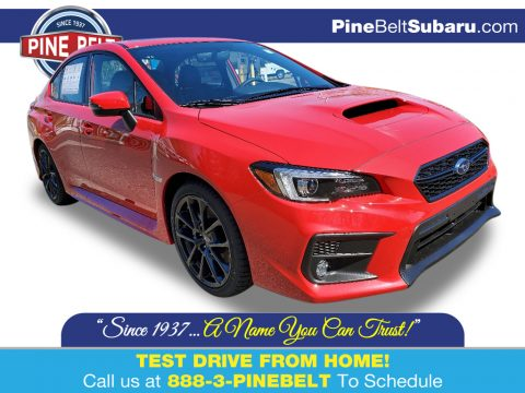 Pure Red Subaru WRX Limited.  Click to enlarge.