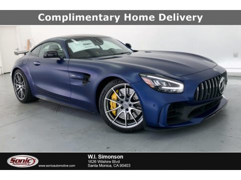designo Brilliant Blue Magno (Matte) Mercedes-Benz AMG GT R Coupe.  Click to enlarge.