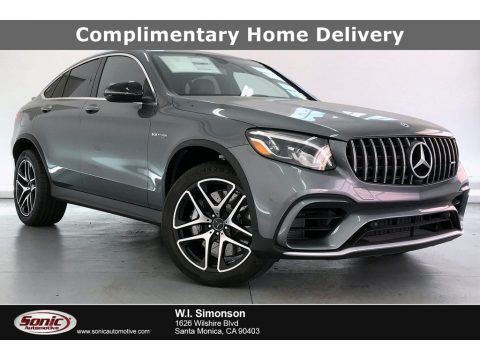 Selenite Grey Metallic Mercedes-Benz GLC AMG 63 4Matic Coupe.  Click to enlarge.
