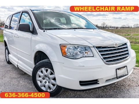Stone White Chrysler Town & Country LX.  Click to enlarge.