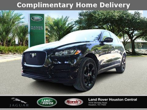 Santorini Black Metallic Jaguar F-PACE 25t Premium.  Click to enlarge.