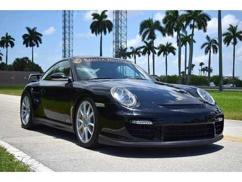 Black Porsche 911 GT2.  Click to enlarge.