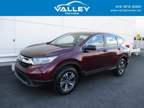 Basque Red Pearl II Honda CR-V LX AWD.  Click to enlarge.