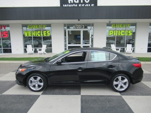 Crystal Black Pearl Acura ILX 2.0L.  Click to enlarge.
