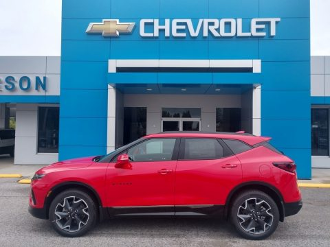 Red Hot Chevrolet Blazer RS.  Click to enlarge.