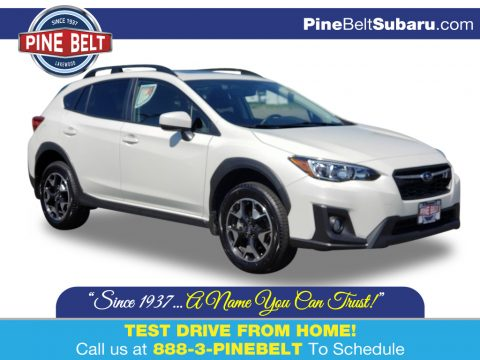 Crystal White Pearl Subaru Crosstrek 2.0 Premium.  Click to enlarge.