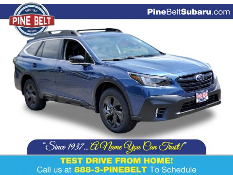 Abyss Blue Pearl Subaru Outback Onyx Edition XT.  Click to enlarge.