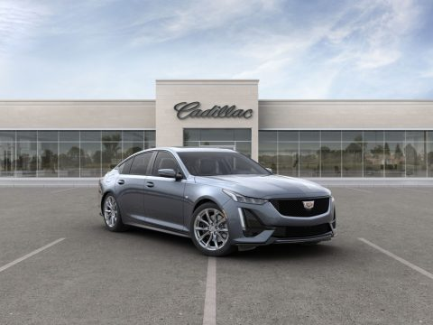 Satin Steel Metallic Cadillac CT5 Sport AWD.  Click to enlarge.