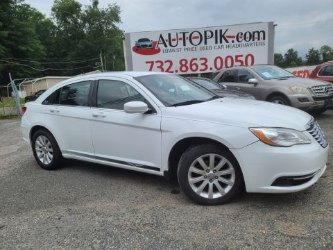 Bright White Chrysler 200 Touring.  Click to enlarge.