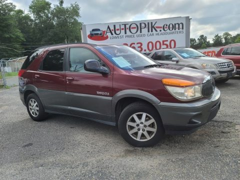 Medium Red Buick Rendezvous CX.  Click to enlarge.