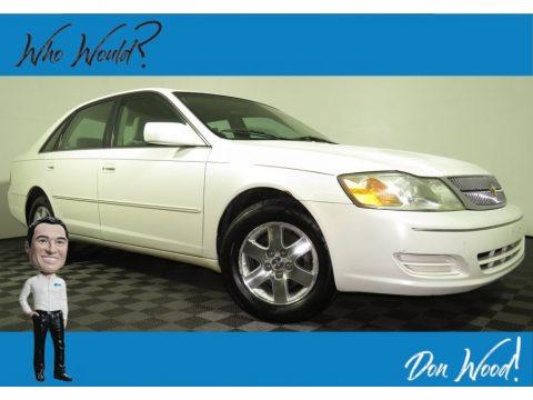 Diamond White Pearl Toyota Avalon XL.  Click to enlarge.