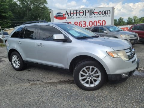 Brilliant Silver Metallic Ford Edge SEL AWD.  Click to enlarge.