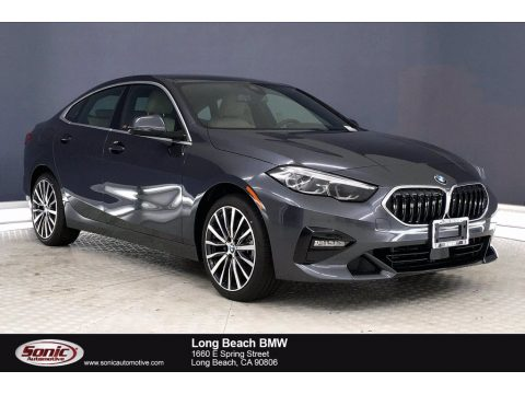 Mineral Grey Metallic BMW 2 Series 228i xDrive Gran Coupe.  Click to enlarge.