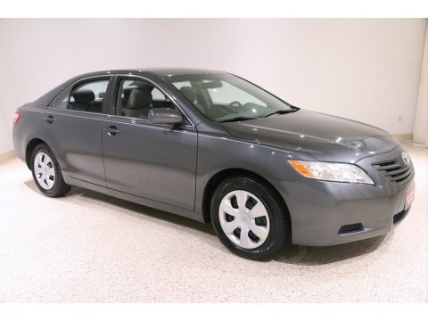 Magnetic Gray Metallic Toyota Camry LE.  Click to enlarge.