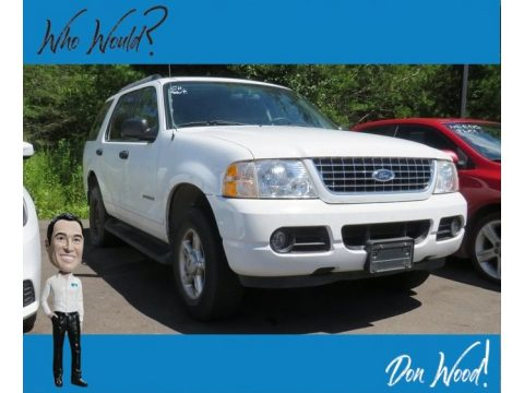 Oxford White Ford Explorer XLT 4x4.  Click to enlarge.