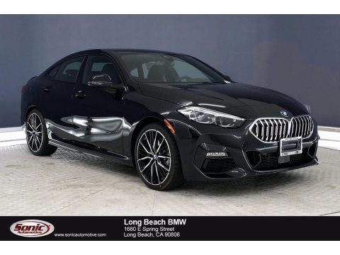 Black Sapphire Metallic BMW 2 Series 228i xDrive Gran Coupe.  Click to enlarge.